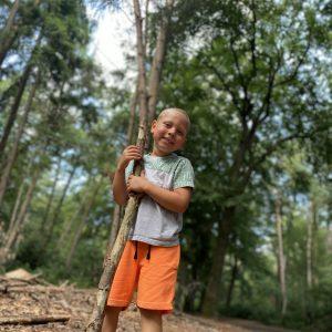 de leukste kinderspelletjes voor in het bos